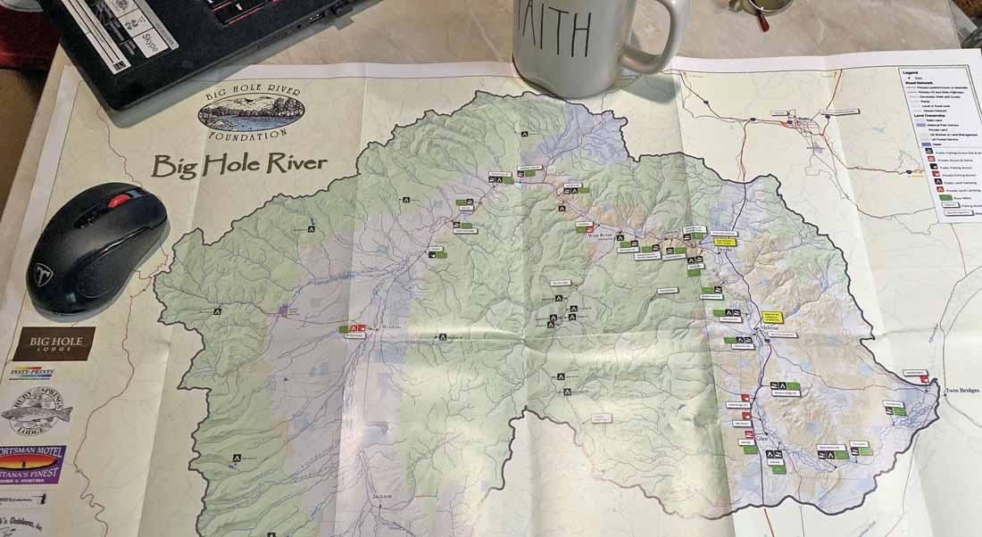 Big Hole River Foundation Map
