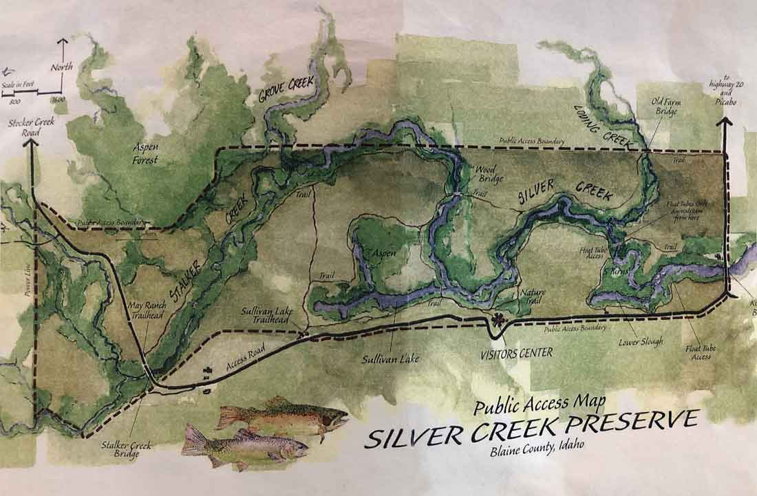 Silver Creek Preserve in Picabo Idaho - The Nature Conservancy