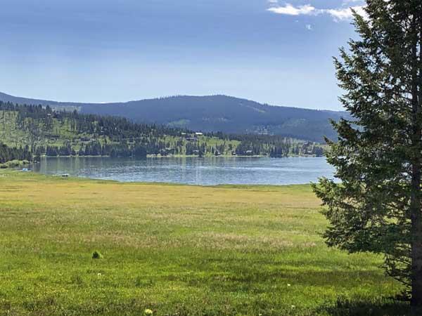 Philipsburg Bay on Georgetown Lake