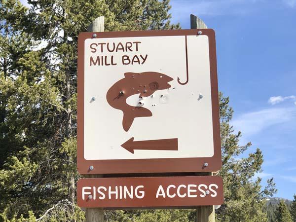 Stuart Mill Bay on Georgetown Lake