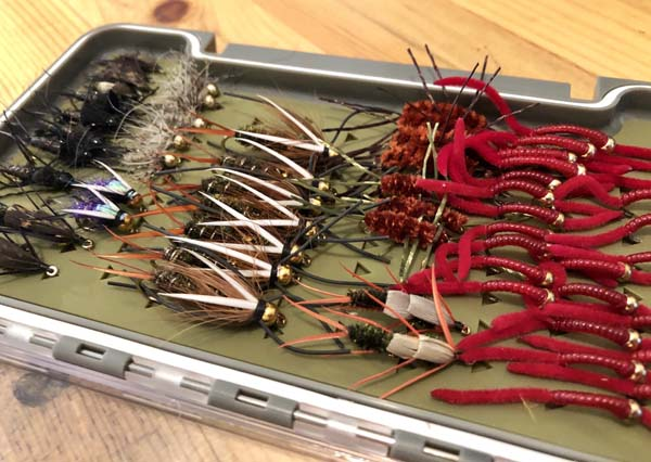 Rock Creek Fly Box for Spring