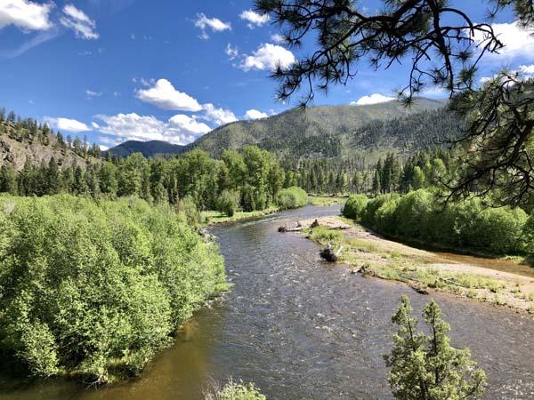 Rock Creek at Hogback Creek