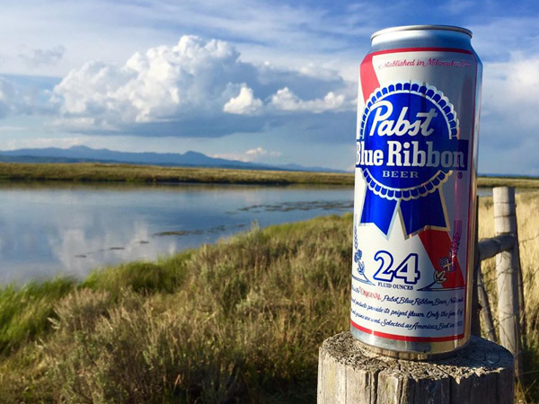 Henry's Fork Fishing Trip with a Pabst Blue Ribbon