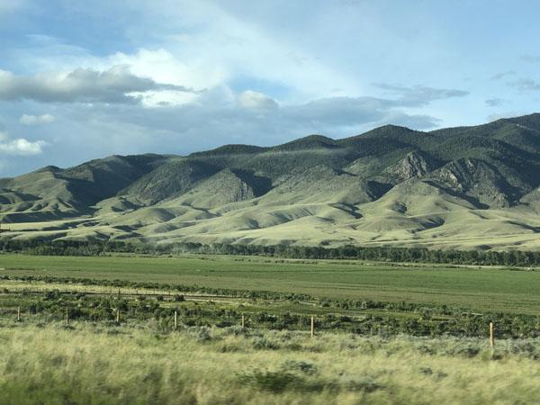 Hills near Melrose Montana