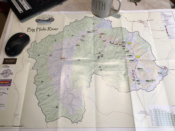 Planning a fishing trip o the Big Hole River