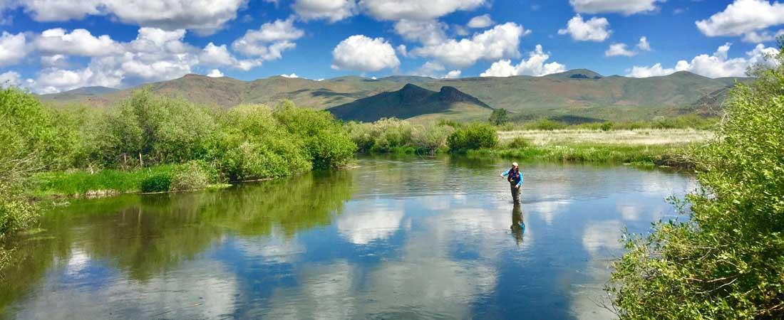 Idaho Fly Fishing Waters Silver Creek