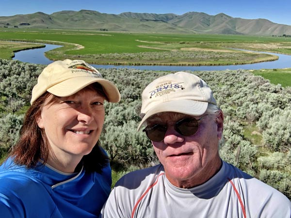 Tim and Lisa Savard Fly Fishing Waters