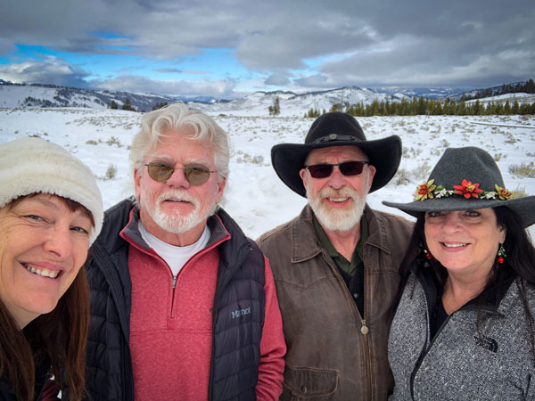 Trip with Friends to Yellowstone on Christmas Day