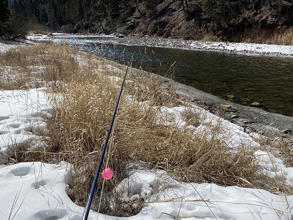 Headed to the River to Fly Fish in March