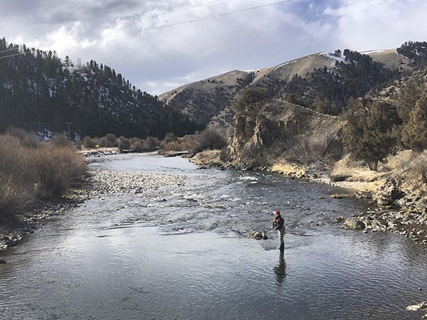 Social Distancing and Fly Fishing in Montana