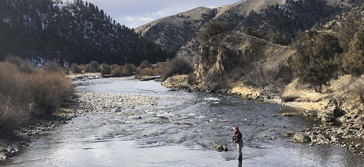 Social Distancing and Fly Fishing