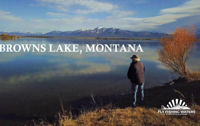 browns lake fly fishing video