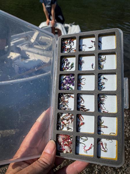 A Missouri River guide's secret fly box
