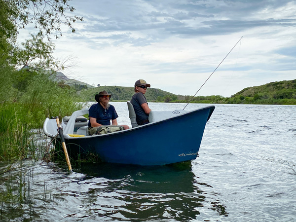 Fly Fishing guide Dave Sewak on the Missouri River