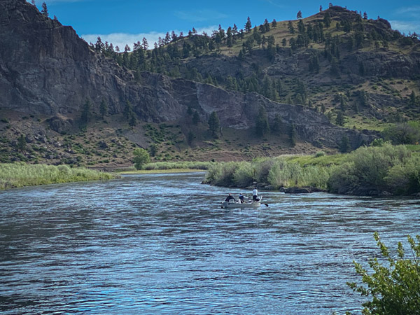 Mid Canyon on the Missouri River in Montana