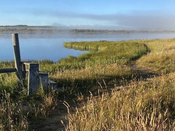 Morning Fog on the Henry's Fork River