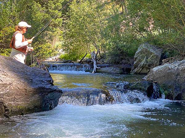 Fishing the North Fork of the Salmon River in Idaho