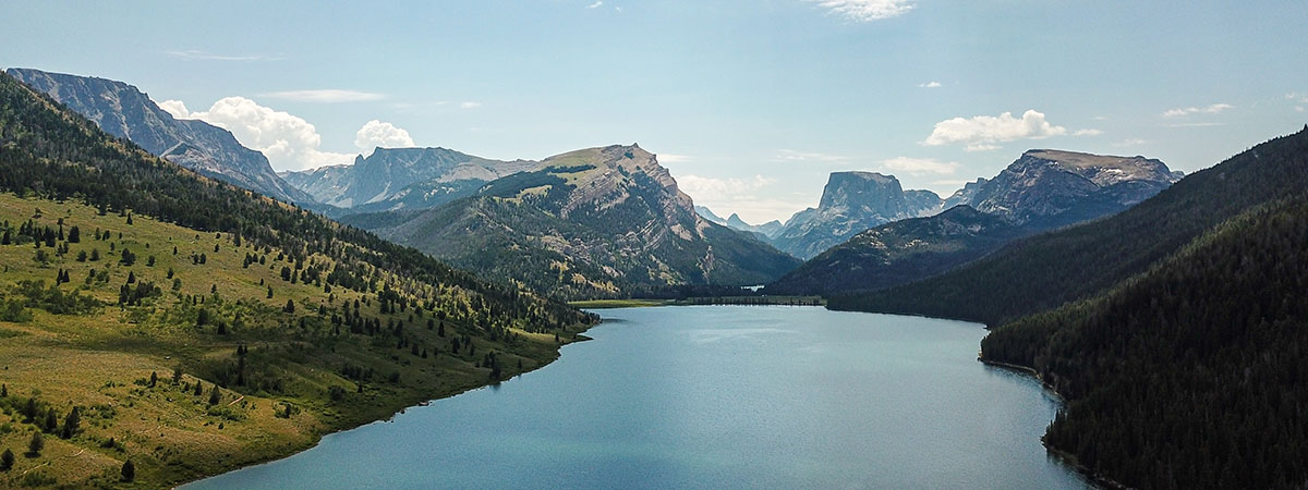 Squaretop Mountain and Green River Lakes Wyoming