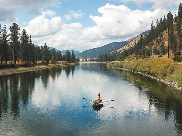 Sloway Clark Fork River near St Regis Montana