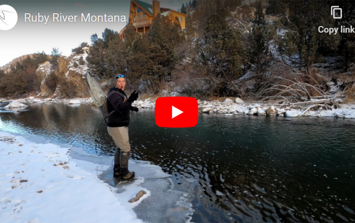 Fly Fishing the Ruby River in Winter with Rick Knight