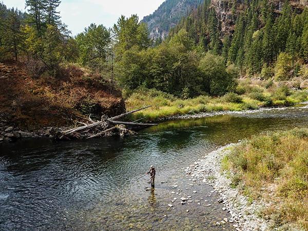 Thompson River Fly FIshing in September