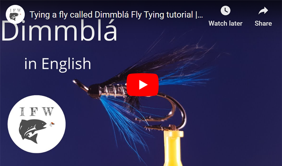 Dimmblá Fly Tying Tutorial