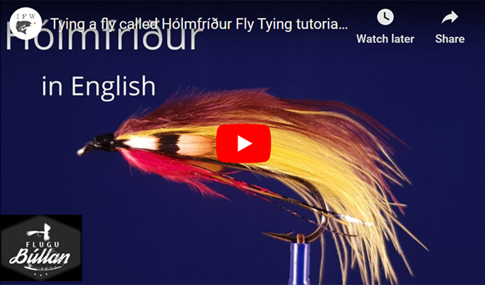 Hólmfríður Fly Tying tutorial