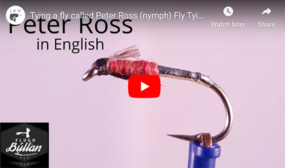 Peter Ross Nymph Fly Tying Tutorial