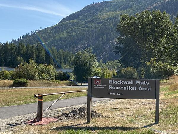 Blackwell Flats Boat Launch on the Kootenai River