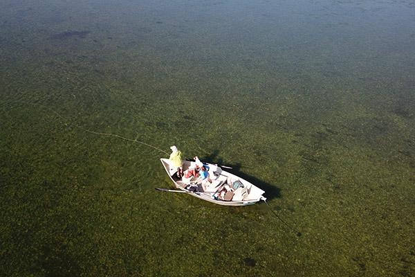 Catching trout on the Kootenai River