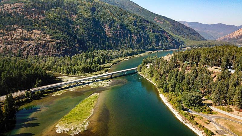 The Fisher River at the Kootenai