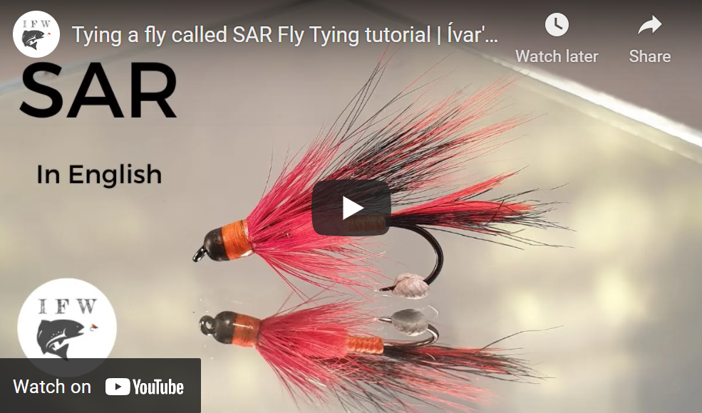 Tying a Fly Called SAR
